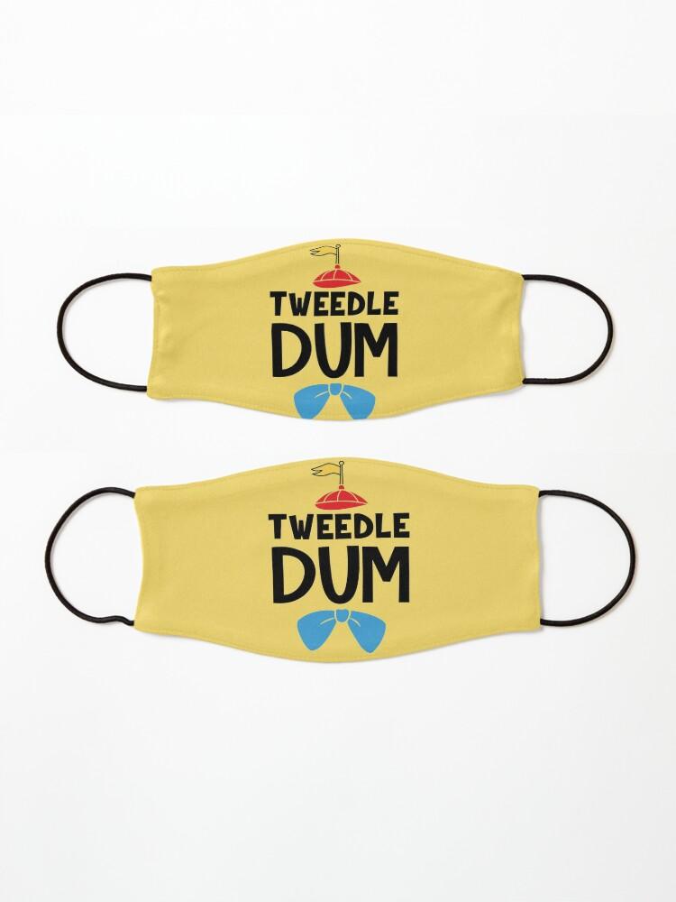 Alternate view of Tweedle Dum Mask