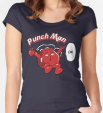 One Punch Man Kool Aide Man  Women's Fitted Scoop T-Shirt