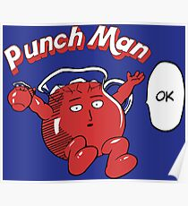 One Punch Man Kool Aide Man  Poster