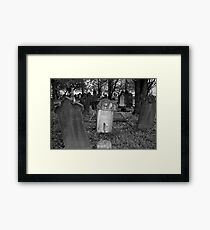 Headstones Framed Print