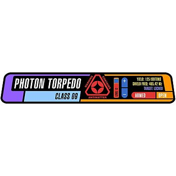 Photon Torpedo by futuristicvlad