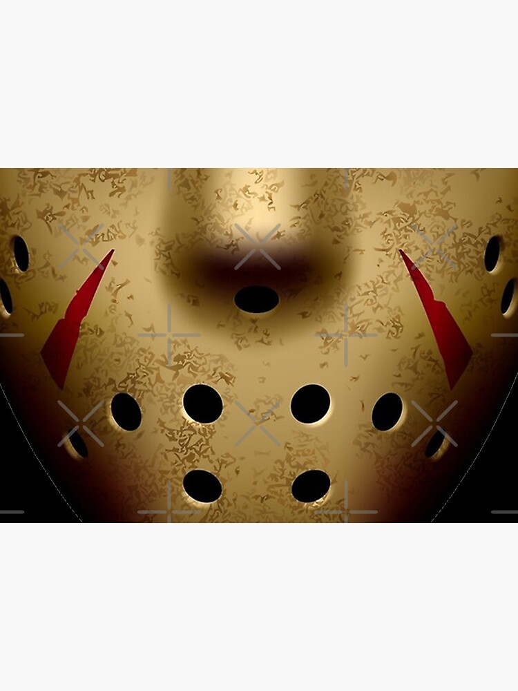 horror movie Jason Voorhees Facemask by alexquang