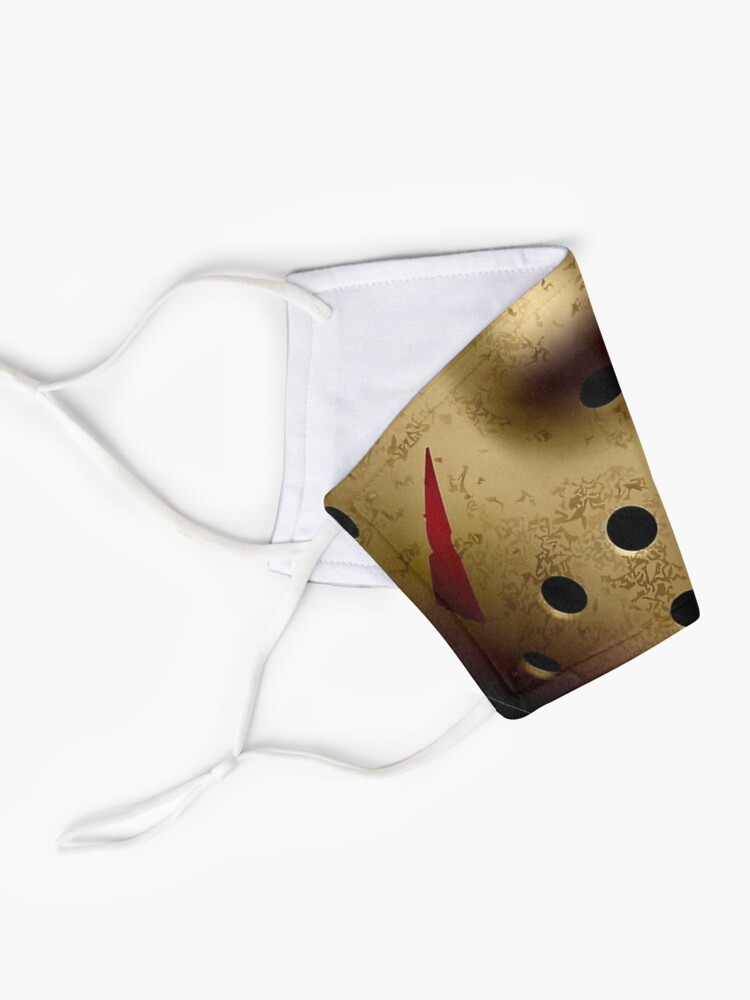 Alternate view of horror movie Jason Voorhees Facemask Mask