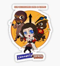 Community Fortress Part 1 Sticker
