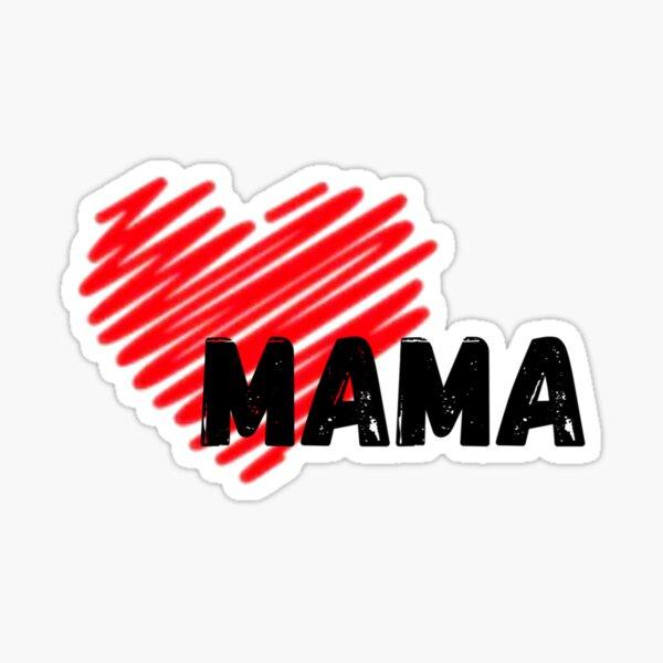 Mama - Mini me Tee Design (Mama) Sticker