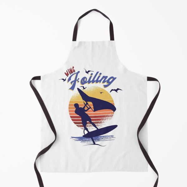 Wing Foiling Surfing Surfer Gift Apron