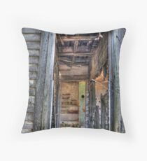 Is There Anyone Home Throw Pillow