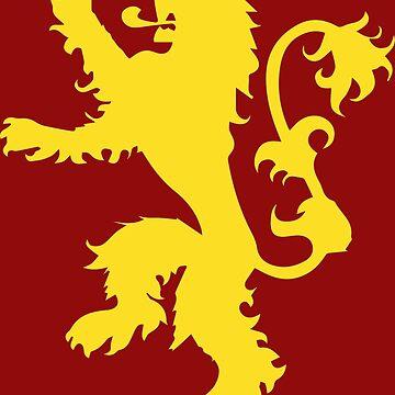 Lion Crest by geekerymade