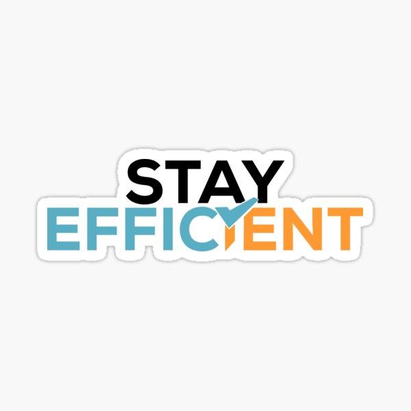 FICSIT Stay Efficient Motto Sticker