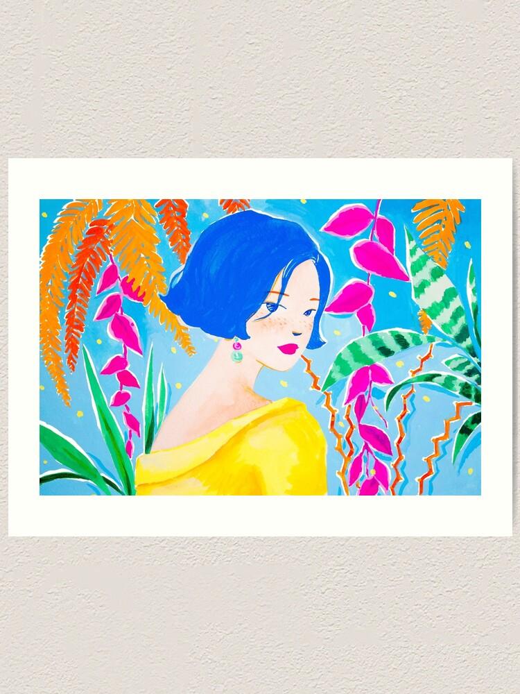 Alternate view of Mysical Jungle Art Print
