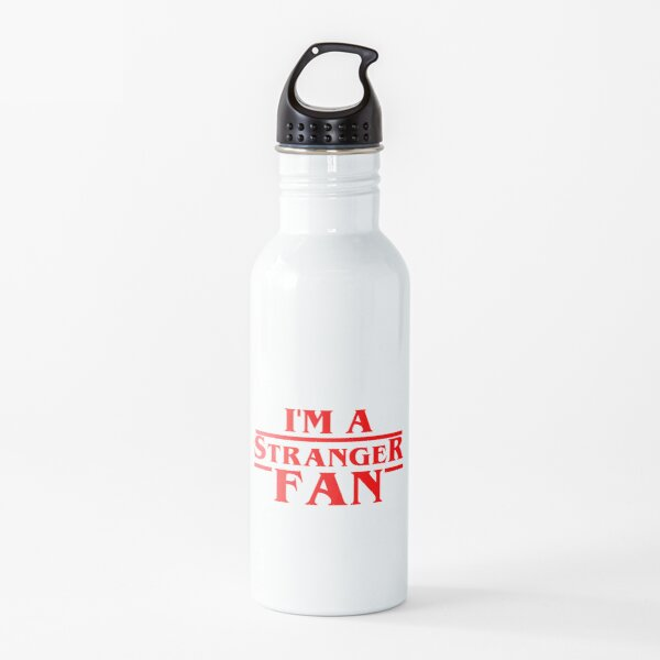 im a stranger fan Water Bottle