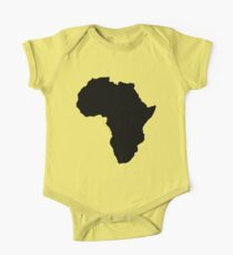 The continent of Africa map of African nation One Piece - Short Sleeve