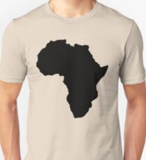 The continent of Africa map of African nation Unisex T-Shirt
