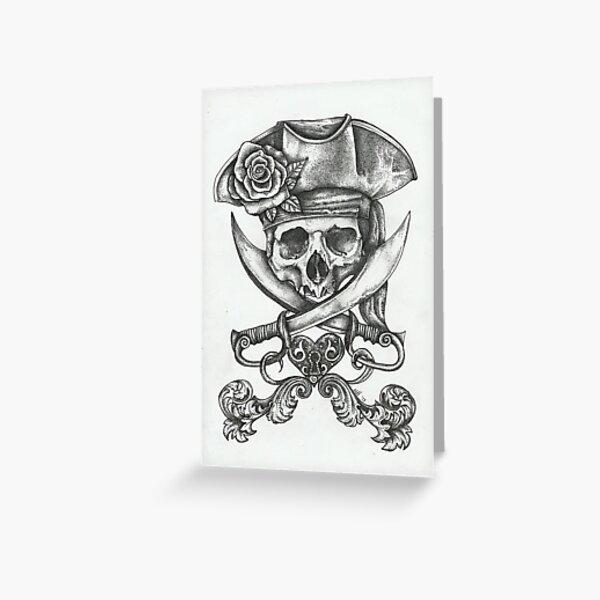 Pirate Dreams Greeting Card