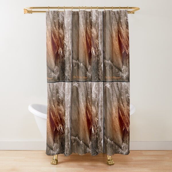 AUSTRALIAN  DRAGON LIZARD  Shower Curtain