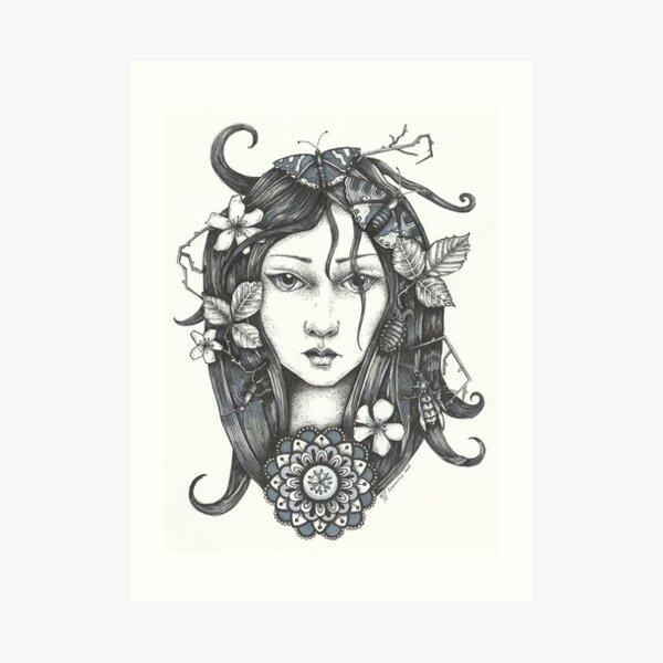 Bugwoman Art Print