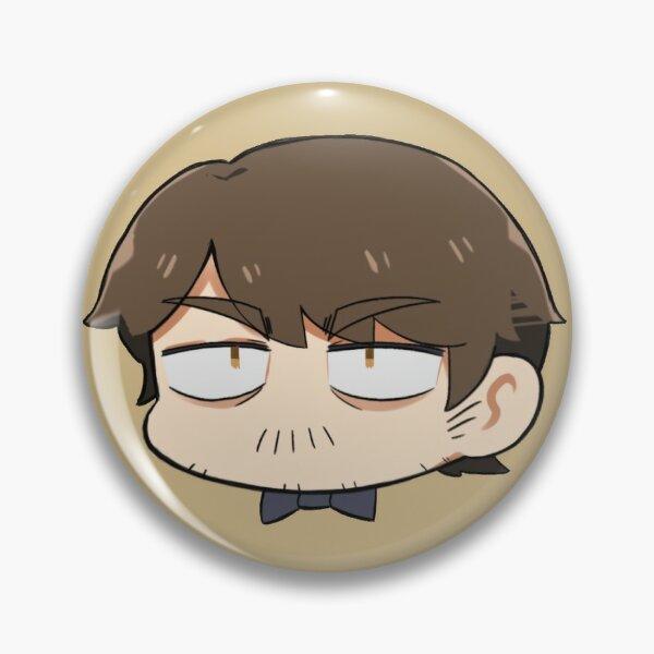 Vocaloid Tonio (chibi bean head) Pin