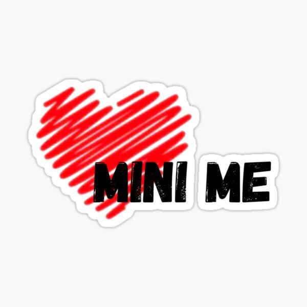 Mama - Mini ich Tee Design (Mini ich) Sticker