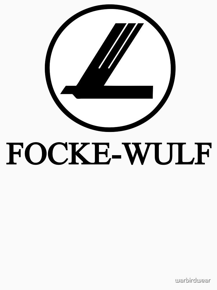 Focke-Wulf Aircraft Logo (Black) | Unisex T-Shirt