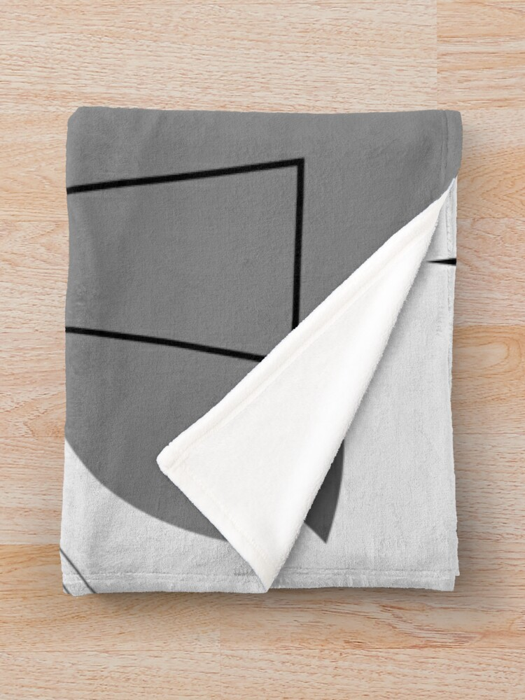 Alternate view of PIANO Throw Blanket