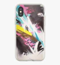Crosscut abstract iPhone Case