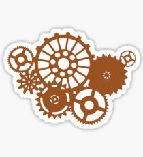 Steampunk Gears Sticker