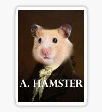 Alexander Hamilton - Hamster Sticker