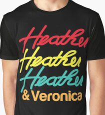 HEATHER HEATHER HEATHER & Veronica Graphic T-Shirt