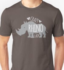 Crazy Rhino Lady Slim Fit T-Shirt