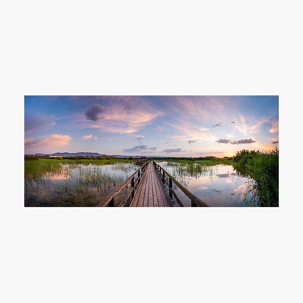 Peaceful Panorama Photographic Print