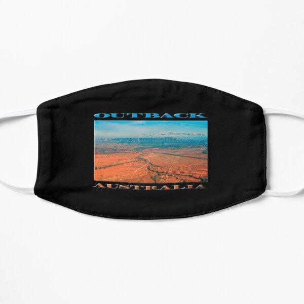 Outback Track (poster on black) Flat Mask