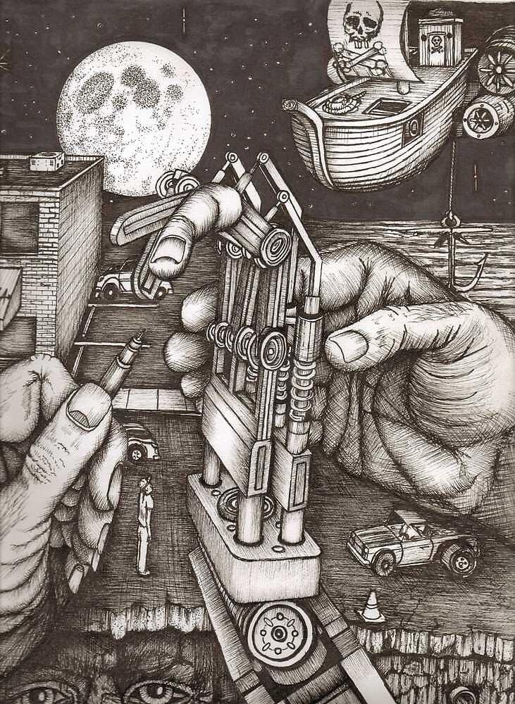 Hands by Richie Montgomery