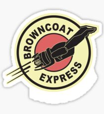 Browncoat Express Sticker