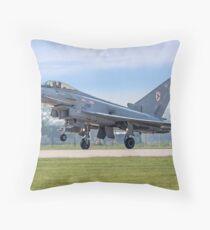 Eurofighter Typhoon F.2 ZJ911/BZ Throw Pillow