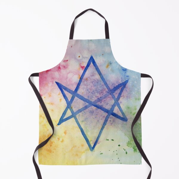 Unicursal Hexagram Apron