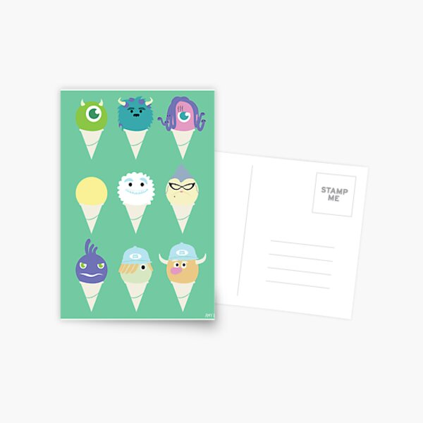 We all scream for ice cre- snow cones! Postcard