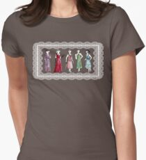 Downton Inspired Fashion Women's Fitted T-Shirt
