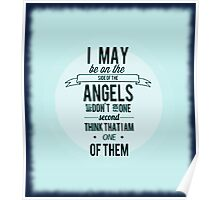 Sherlock Holmes Angel Quote Poster