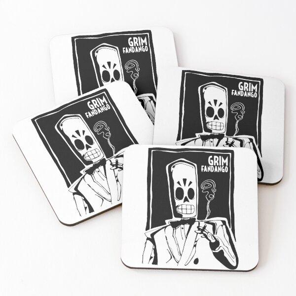 Grim Fandango Coasters (Set of 4)