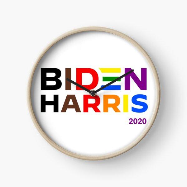Biden Harris 2020 presidential candidates Clock