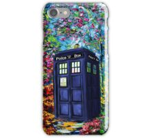 Tardis Flower iPhone Case/Skin