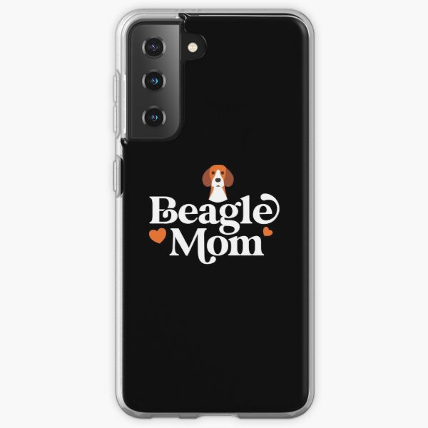beagle mom black Samsung Galaxy Soft Case