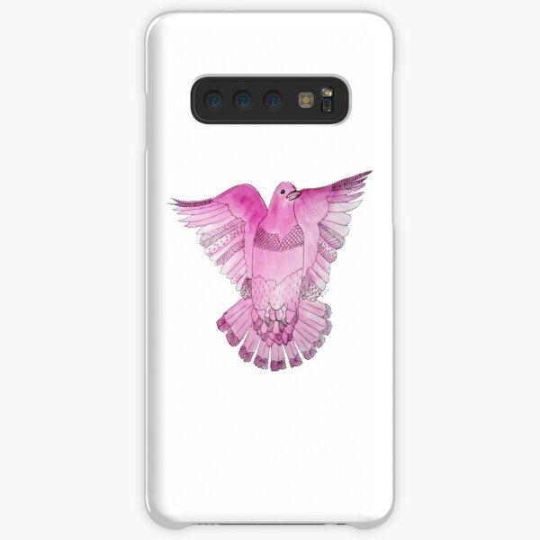 Plum Pigeon in Flight Samsung Galaxy Snap Case
