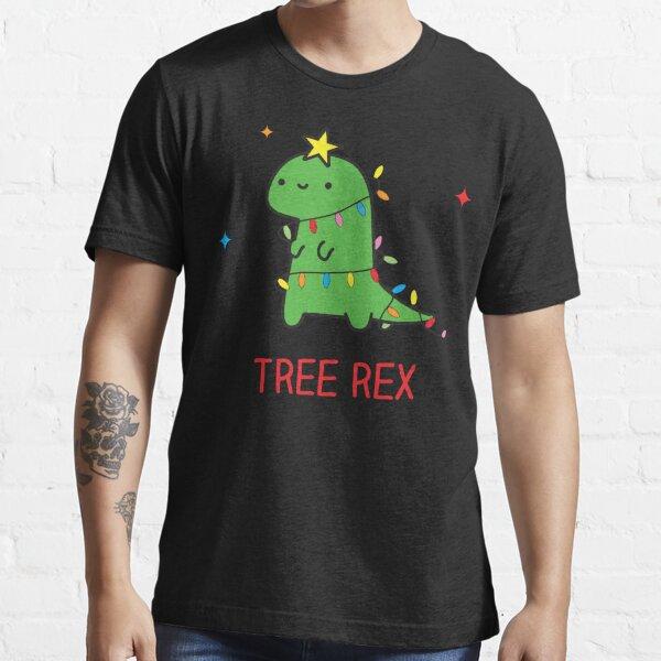 Tree Rex, Christmas dinosaur Essential T-Shirt