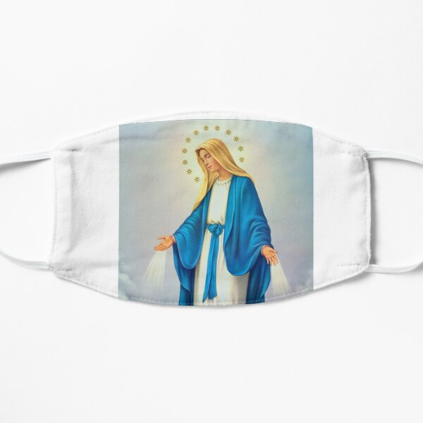 Virgin Mary Immaculate Conception Flat Mask