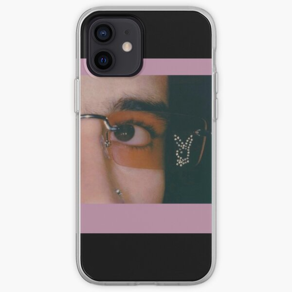 Pink bunny iPhone Soft Case