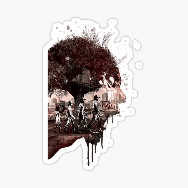 Logotipo de The Walking Dead Game Definitive Edition Pegatina