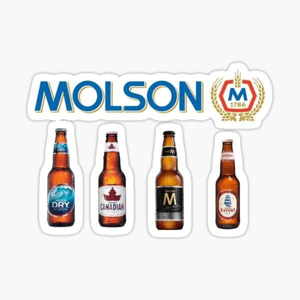 Molson Sticker
