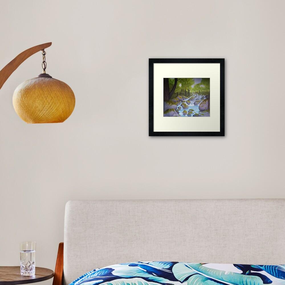 Alfheim Framed Art Print