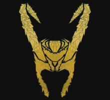 Loki's helmet   Unisex T-Shirt